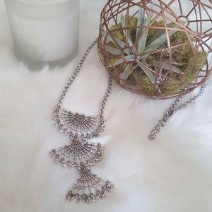 Lucky Brand Boho Fan Necklace